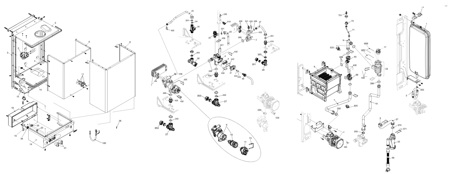 VOKERA BOILER DIAGRAM SCHEMATICS