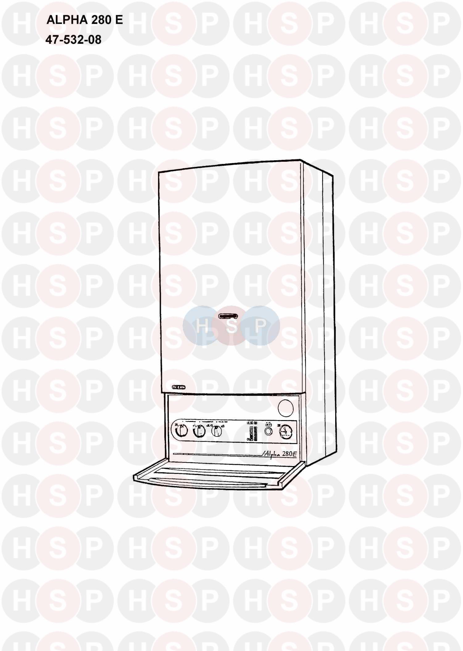 Alpha 280 E Boiler Diagram Appliance Overview Heating