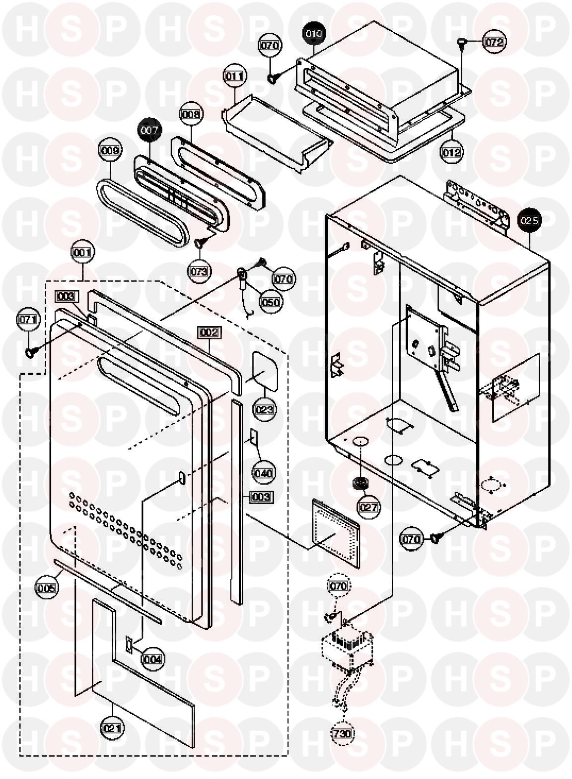 commercial heating boiler diagrams