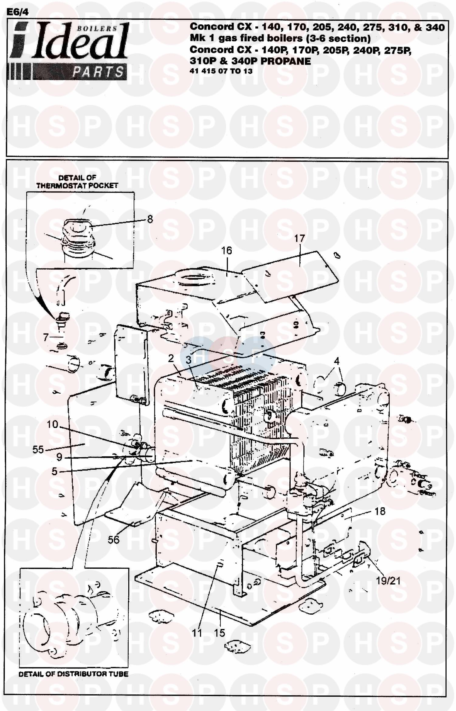 ideal concord cx 240 240p boiler diagram boiler. Black Bedroom Furniture Sets. Home Design Ideas