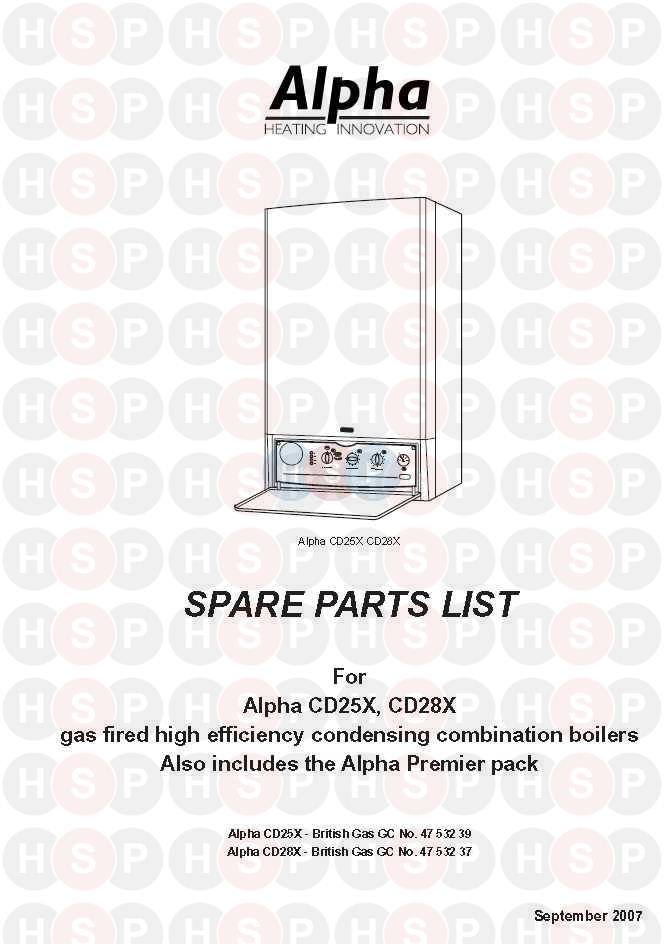 alpha cd28x boiler diagram appliance overview heating spare parts click the diagram to open it on a new page