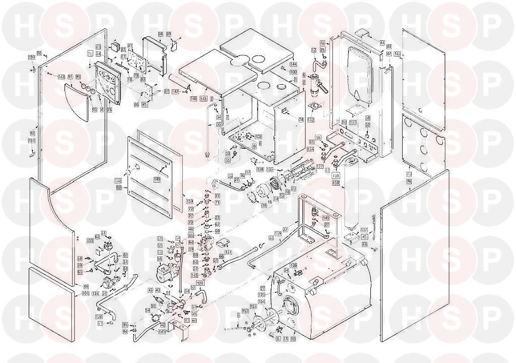 Sime dewy 30 80 wm appliance diagram (boiler assembly) heating on sime boiler wiring diagram Hot Water Boiler System Diagram Outdoor Wood Boiler Piping Diagram
