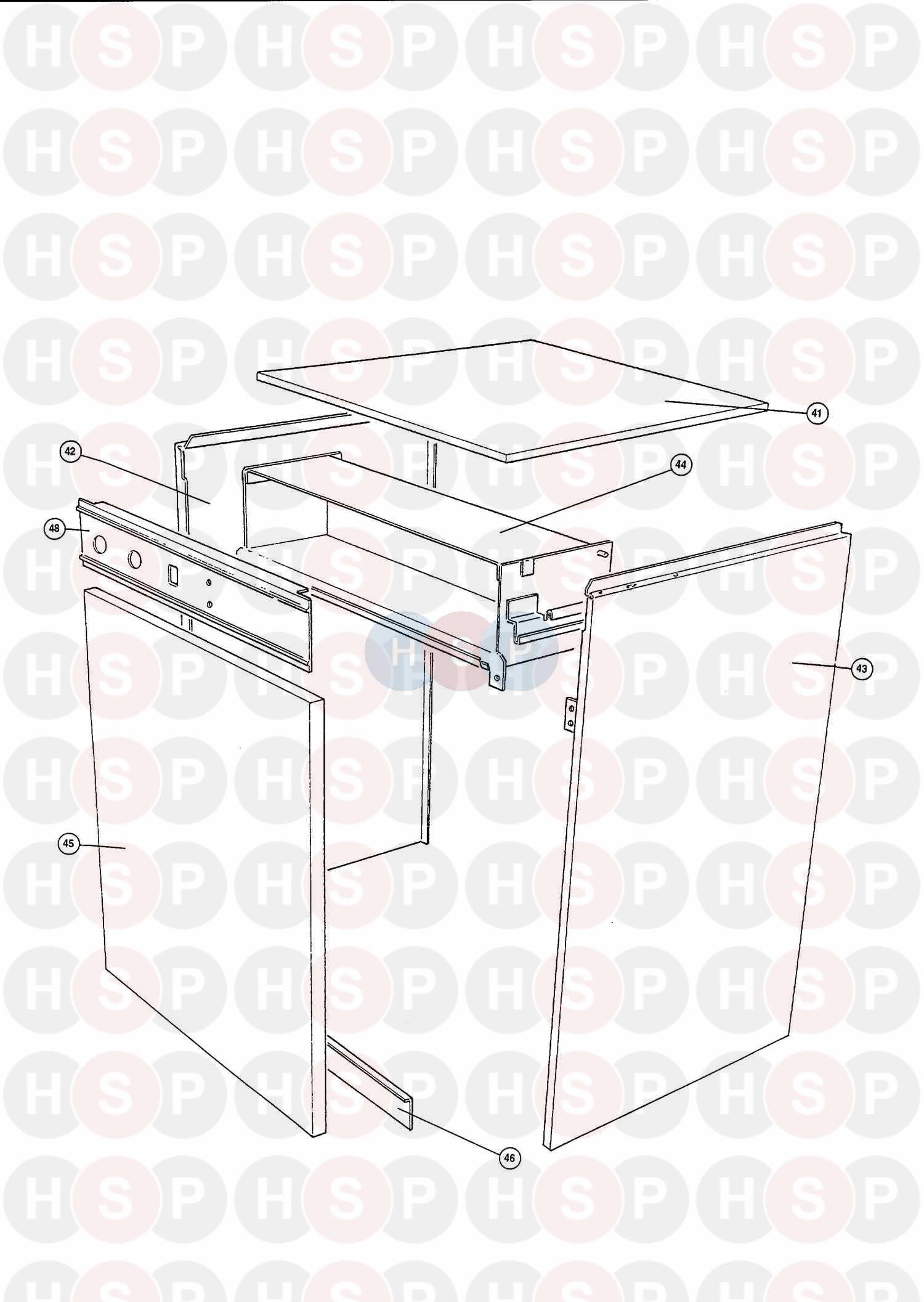 worcester highflow 400 bf lpg boiler diagram  assembly 5