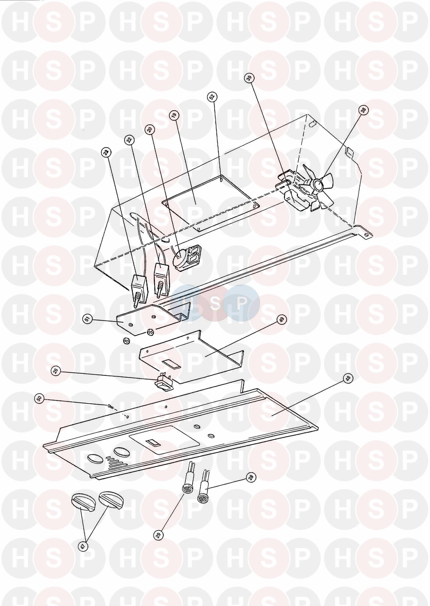worcester highflow 400 bf lpg boiler diagram  assembly 6
