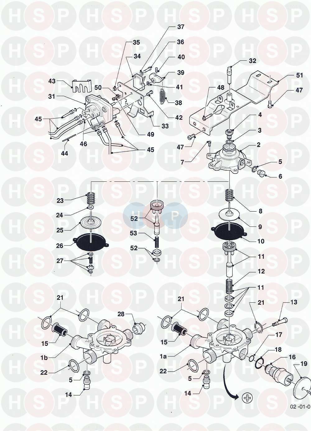 vaillant combi compact ff vcw 282 e 1988 95
