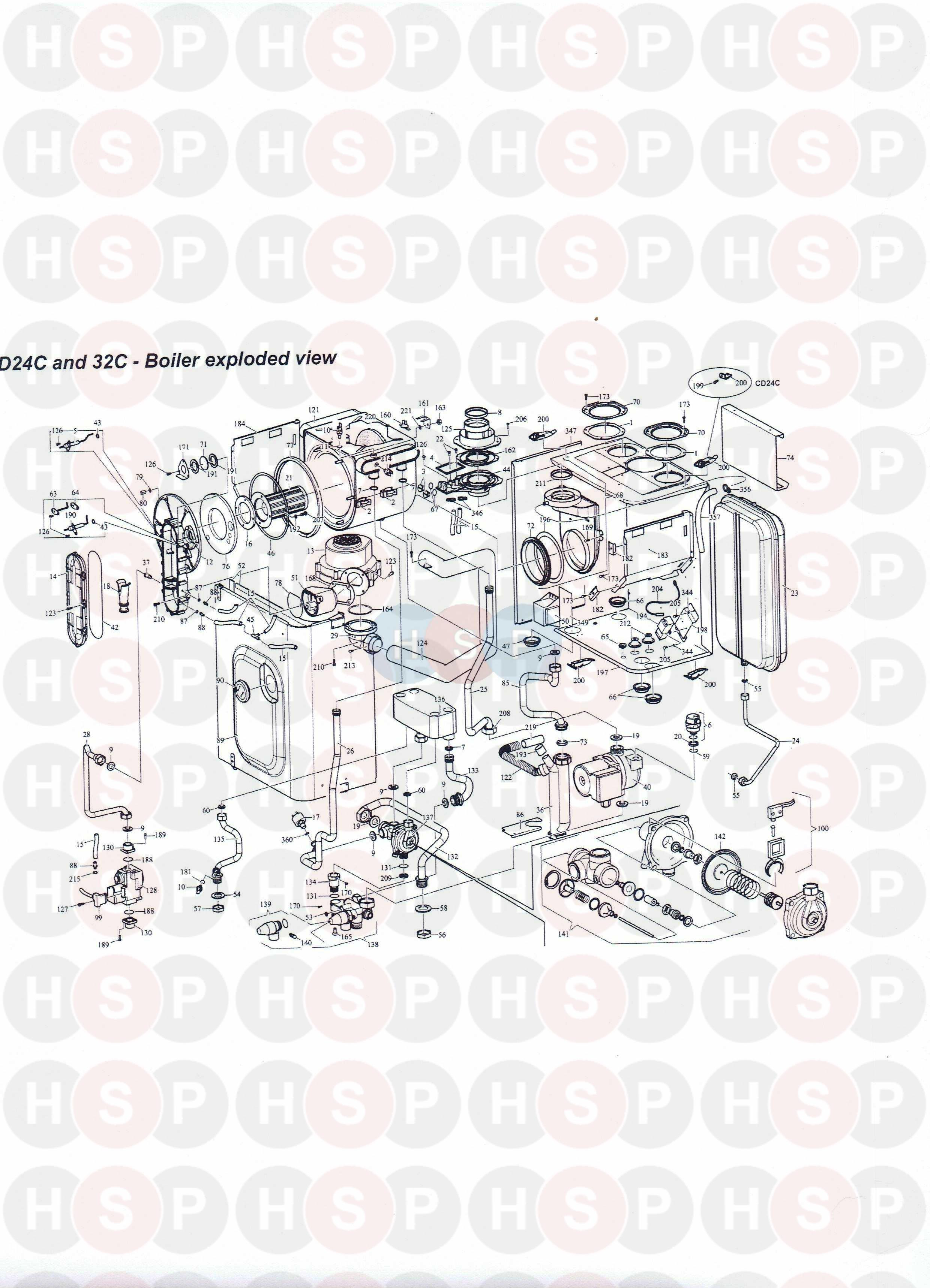 Alpha cd 24X 28X /& eco 28KW chaudière spark générateur 1.018162 voir liste ci-dessous