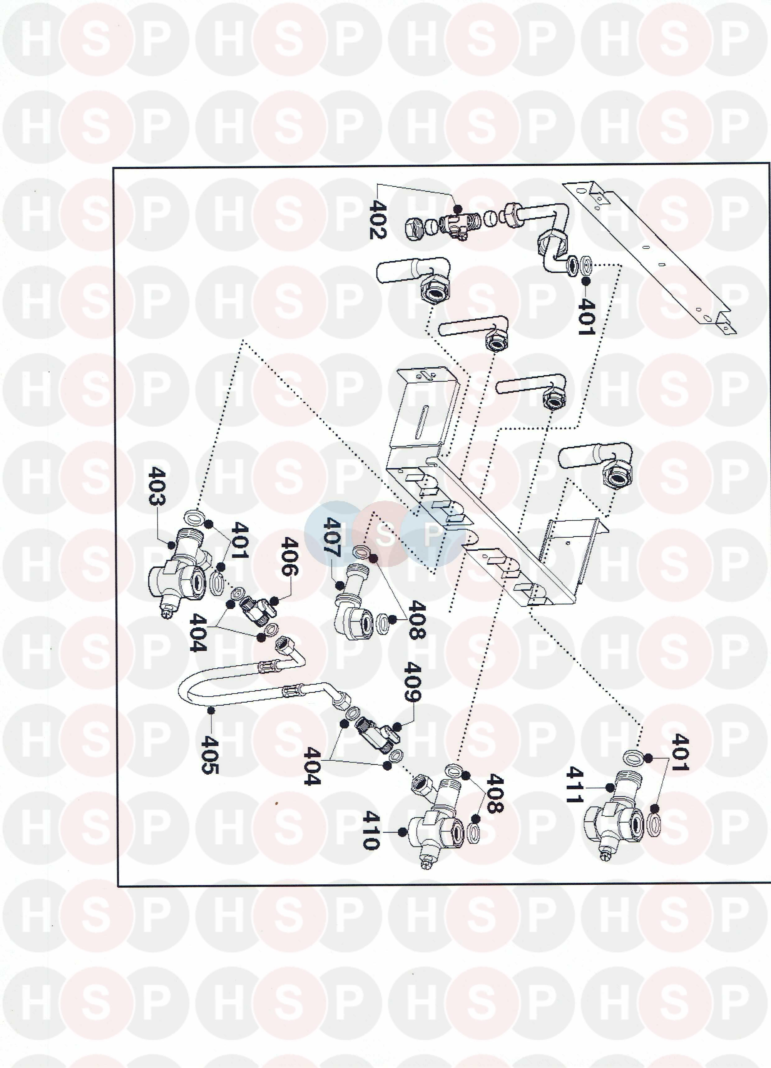 Ariston eco combi 27 mffi connections diagram heating spare parts click the diagram to open it on a new page asfbconference2016 Images