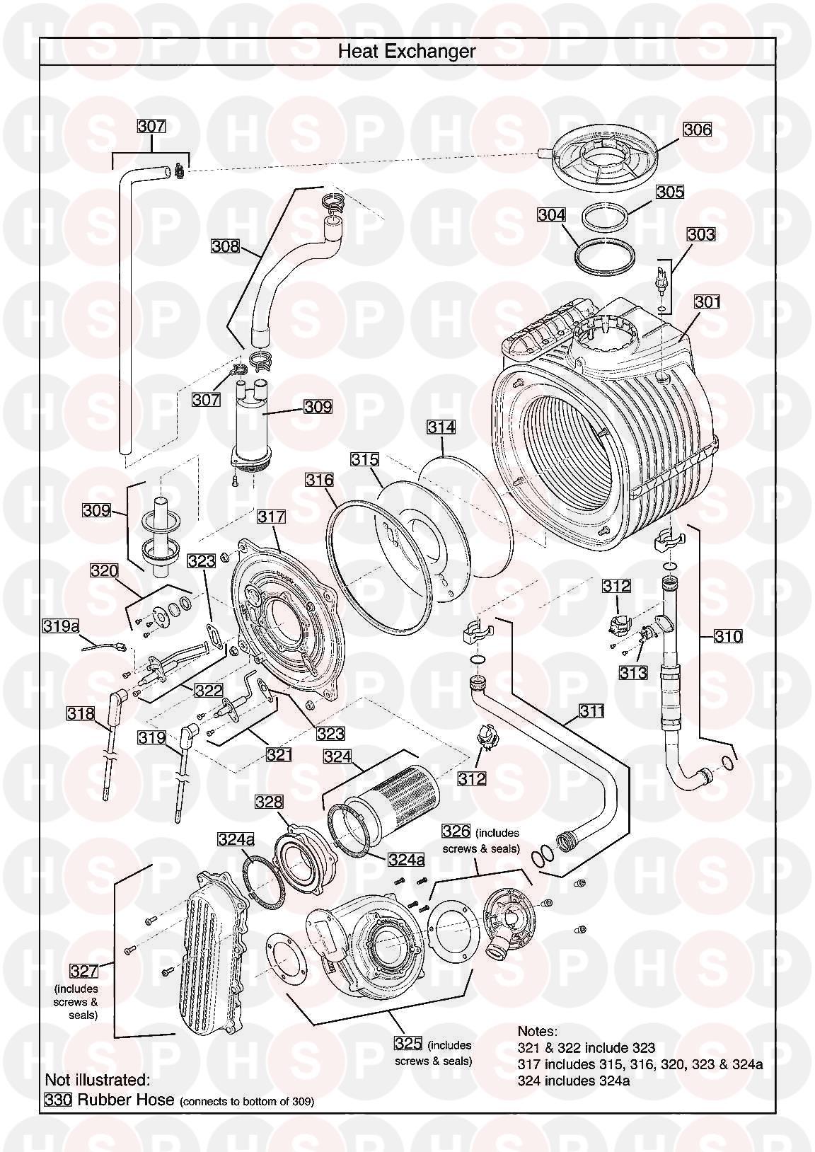 baxi megaflo 2 system 24 compact ga appliance diagram