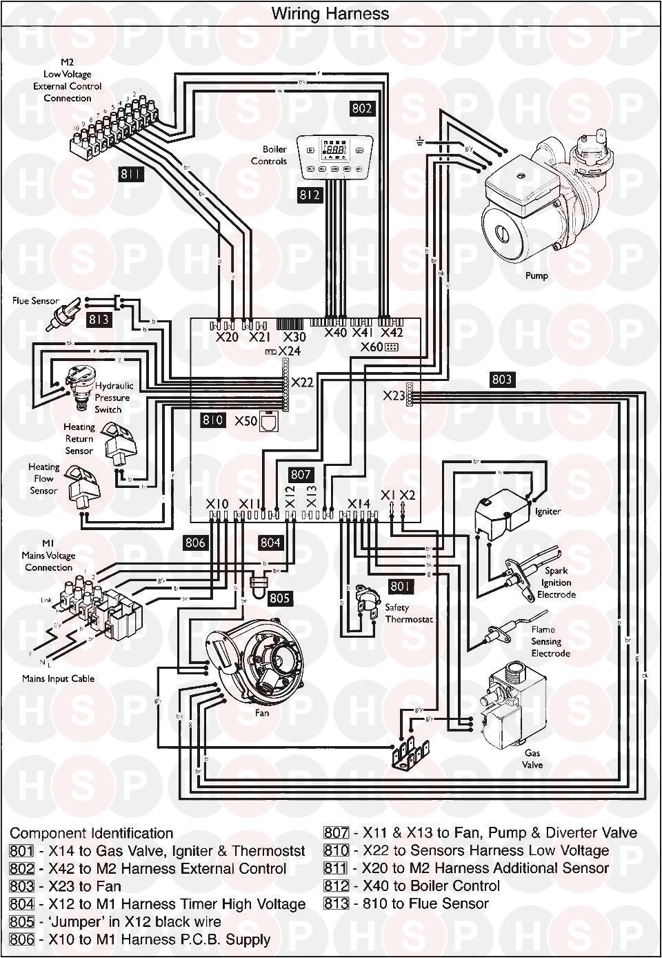 X Wiring Diagram on