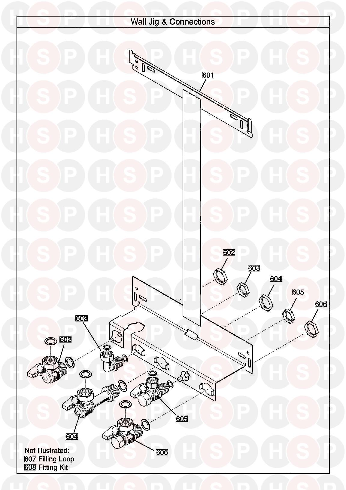 Baxi Neta Tec 28 Ga Wall Jig Diagram Heating Spare Parts