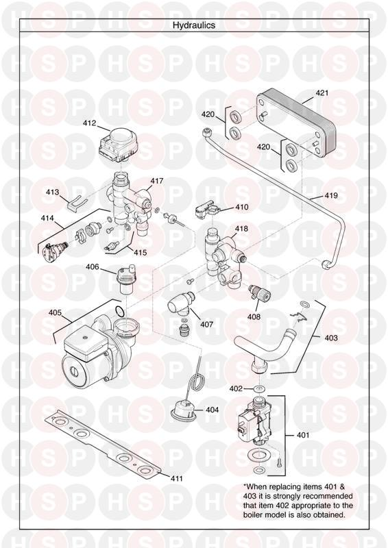 Baxi Duo Tec 2 40 Ga Range  Hydraulics  Diagram