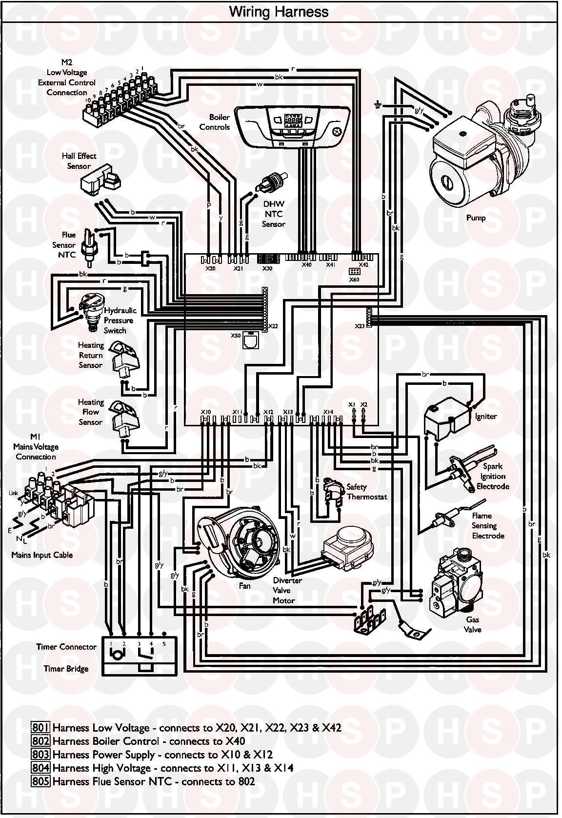 baxi ecoblue advance combi 33  wiring diagram  diagram