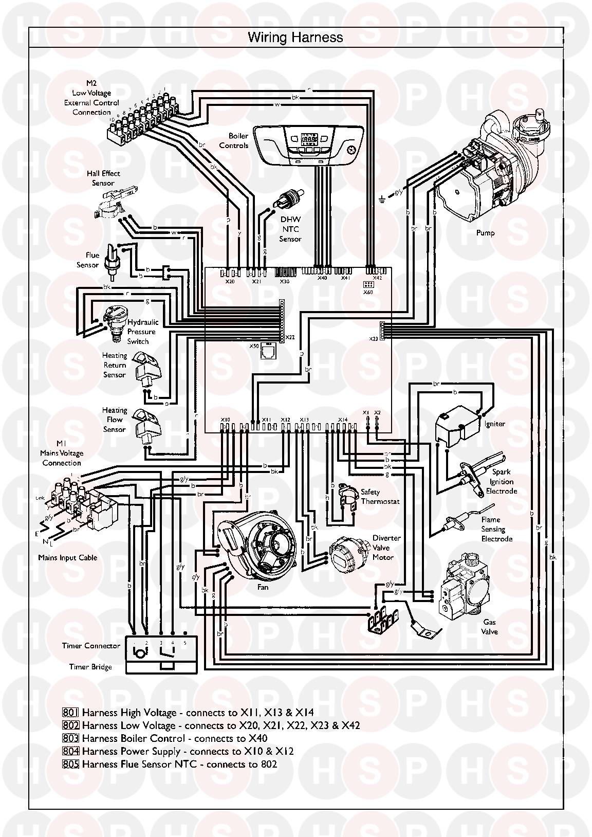 Baxi 24 Combi Erp Wiring Harness Diagram Heating Spare Parts Flame Sensor Click The To Open It On A New Page