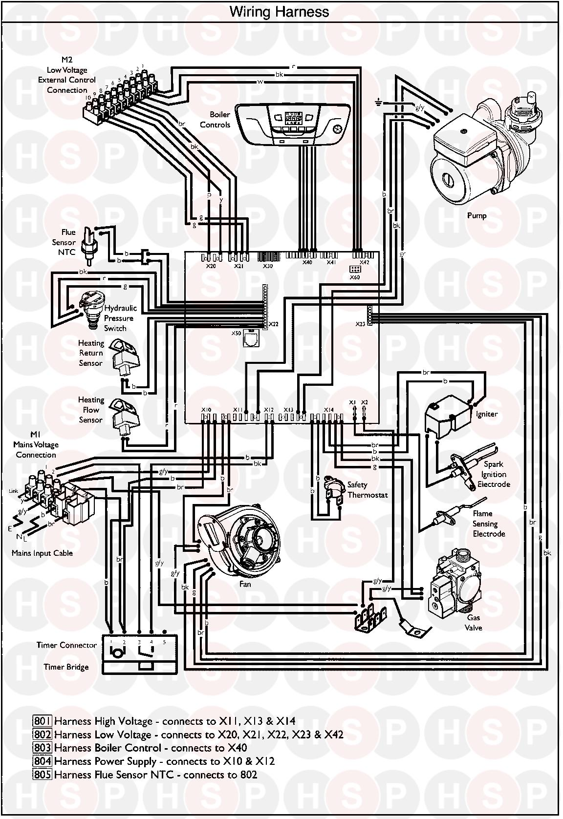 Baxi System 12 Wiring Harness Diagram Heating Spare Parts X12 Click The To Open It On A New Page