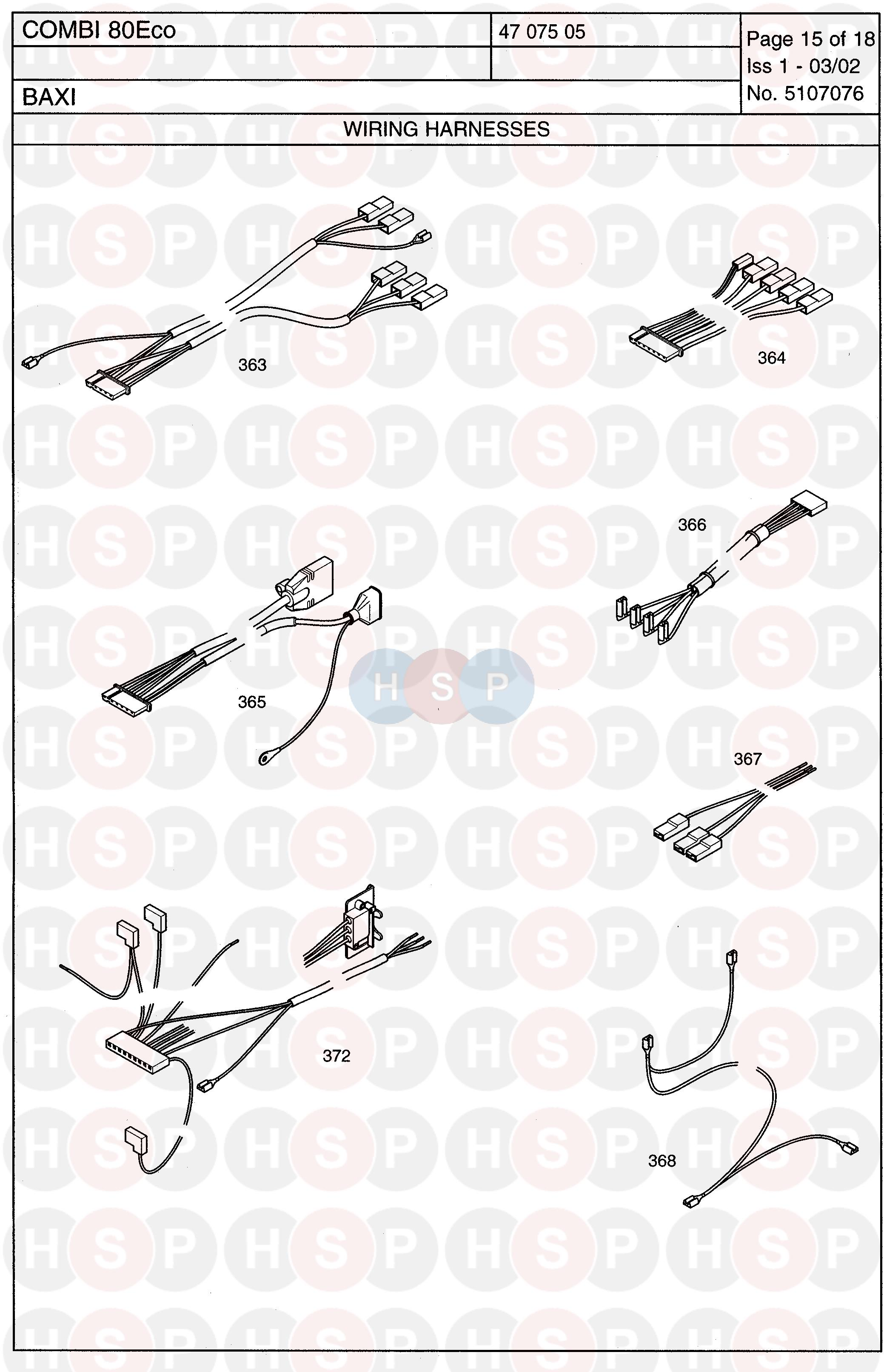 Baxi Combi 80 Eco Wiring Harness Diagram Heating Spare