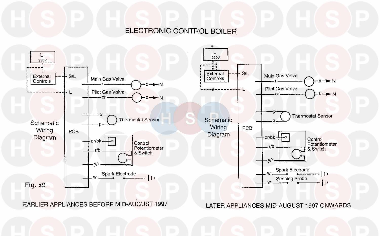 baxi bermuda 57  4 electronic  wiring 2  diagram