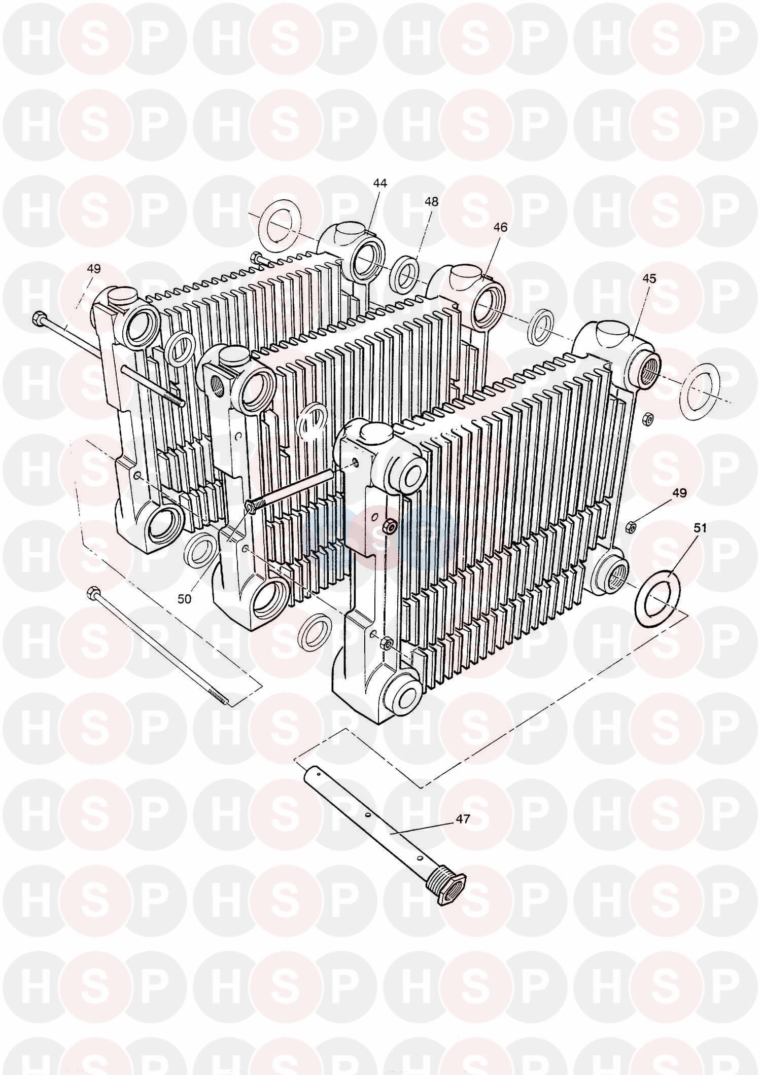 Baxi Boston 2 80 Rs Boiler Diagram Heating Spare Parts Shopping Cart For