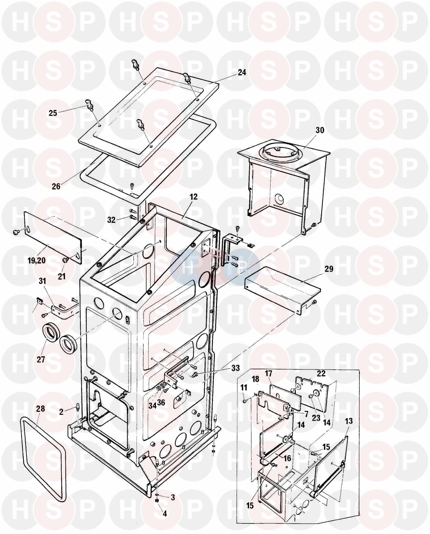 baxi spare parts