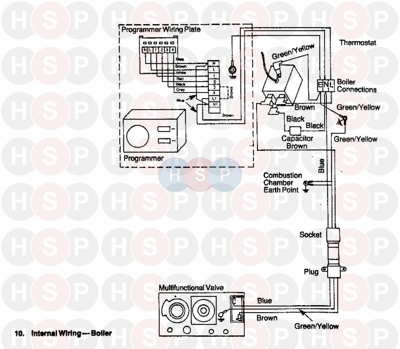 baxi fs 401 rs chb  internal wiring