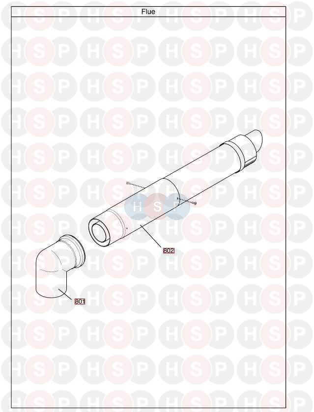baxi megaflo 32 he a appliance diagram  flue