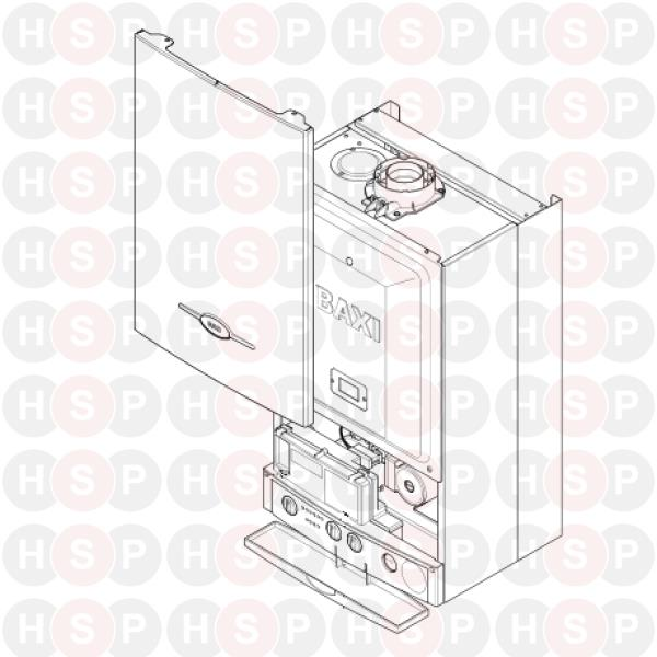 Baxi Combi 105e Appliance Diagram Accessories Heating