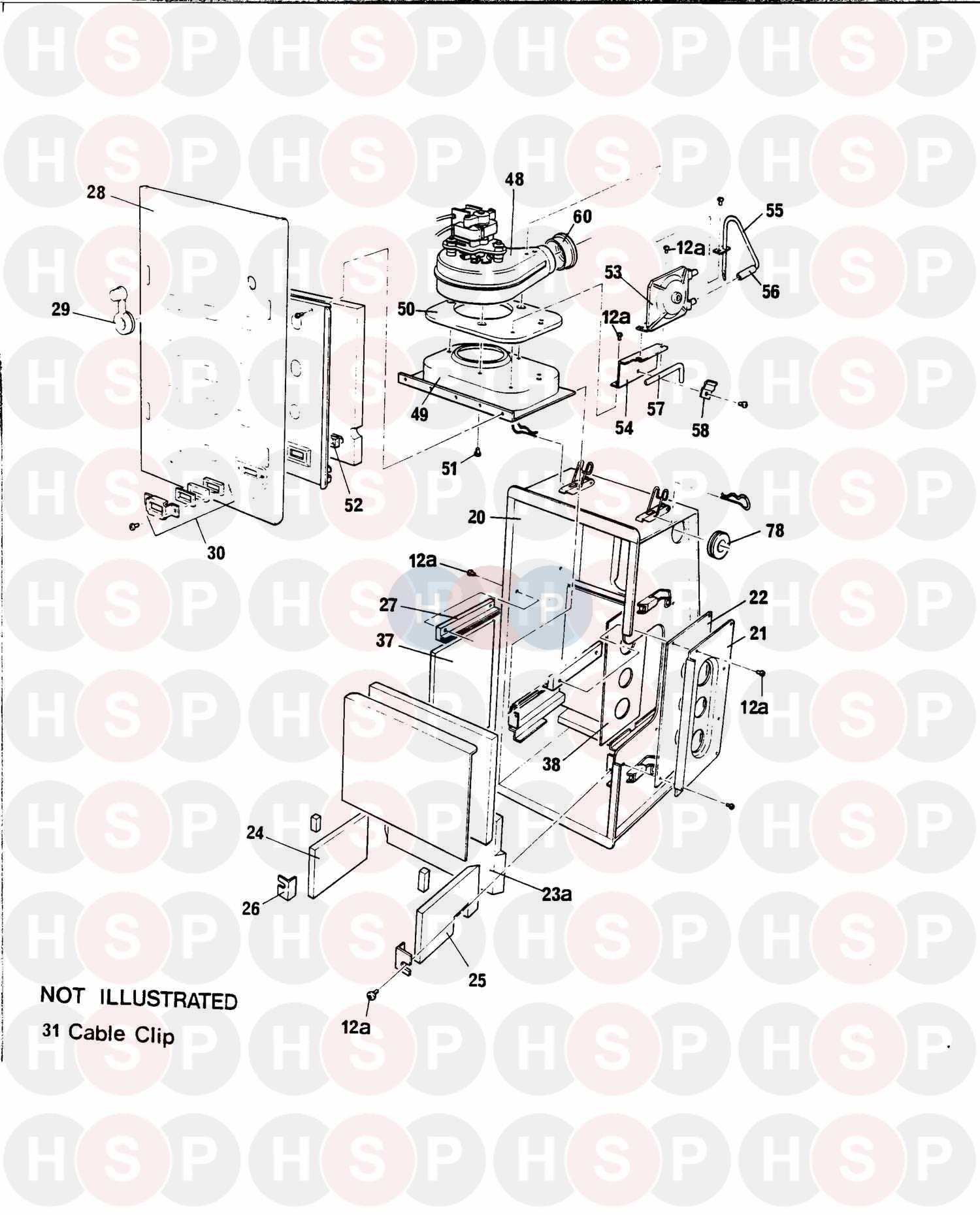 baxi solo 2 pf 50  controls  diagram