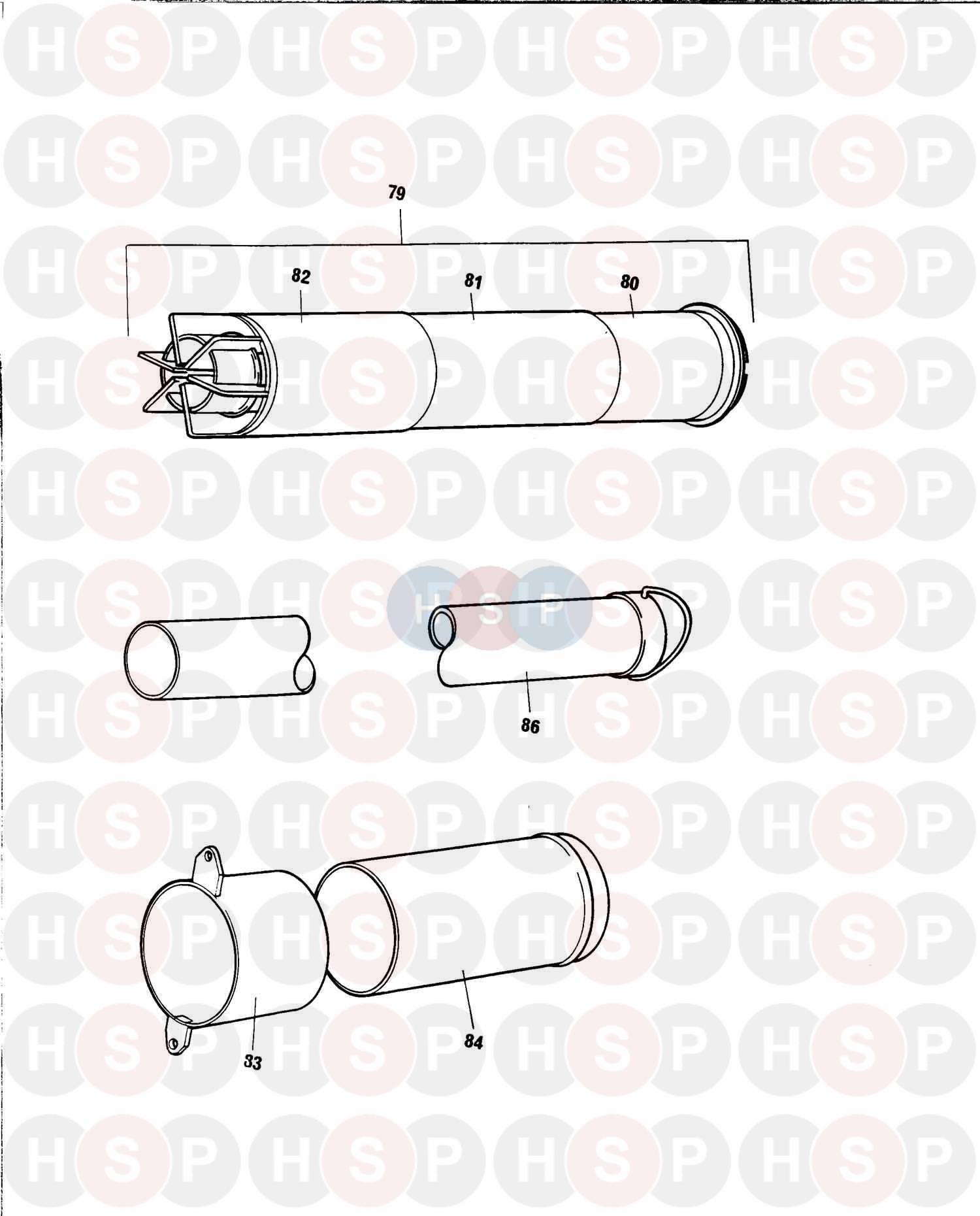 baxi solo 2 pf 50  flue  diagram