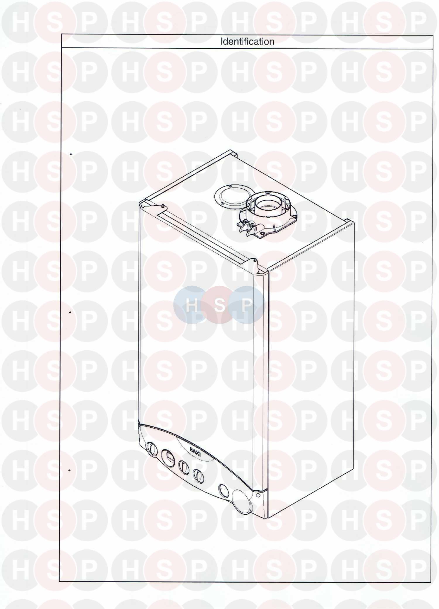 baxi platinum combi 33 he a  identification  diagram