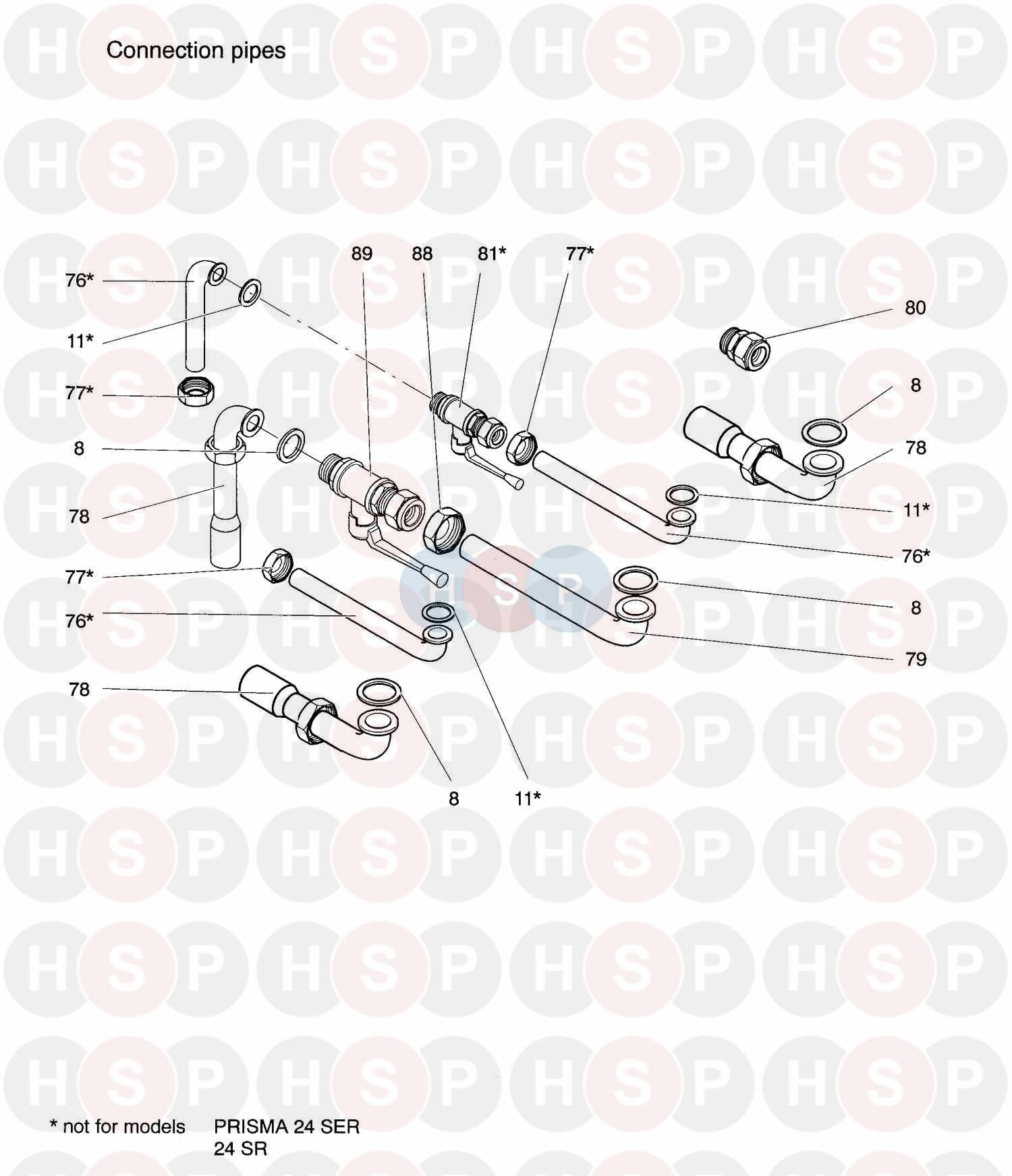 biasi prisma 28s  200  connection pipes  diagram