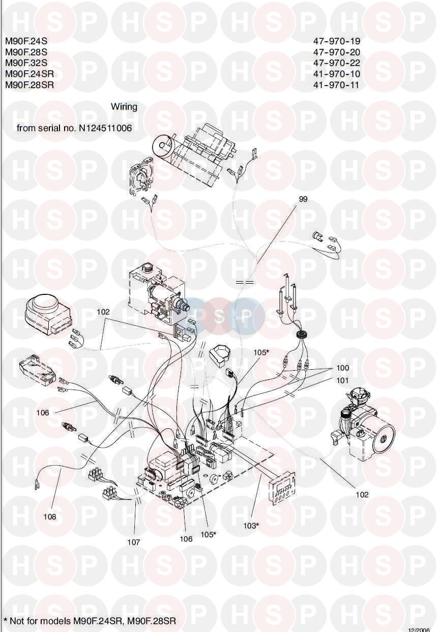 biasi garda m90f 28s wiring 2 diagram heating spare parts. Black Bedroom Furniture Sets. Home Design Ideas