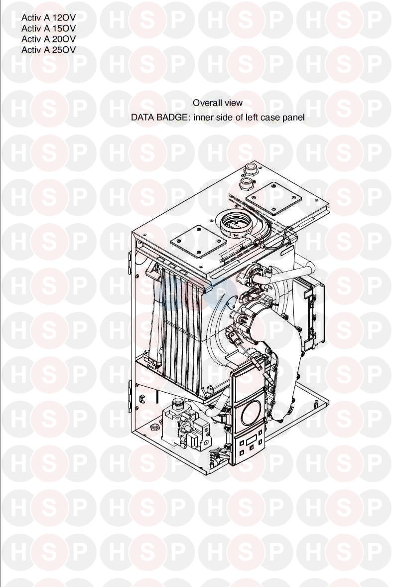 biasi activ a 12ov  appliance overview  diagram