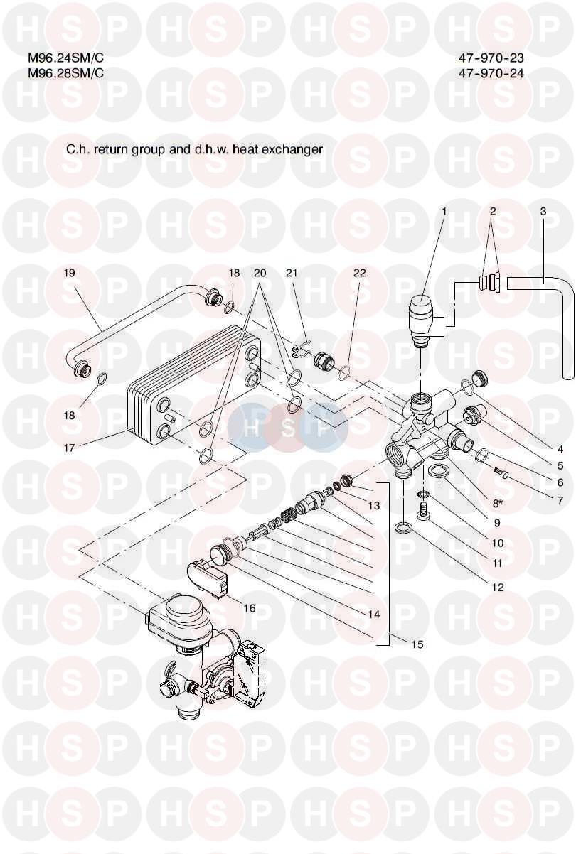 BIASI RIVA COMPACT HE M96.24SM /& M96.28SM TEMPERATURE PRESSURE GAUGE BI1475108