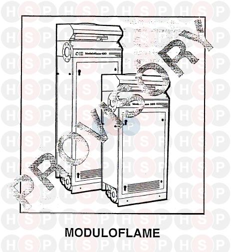 Chaffoteaux MODULOFLAME 420 (APPLIANCE OVERVIEW) Diagram