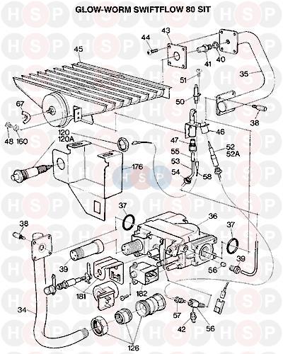 glowworm swiftflow 80 s i t 1992 ava appliance diagram