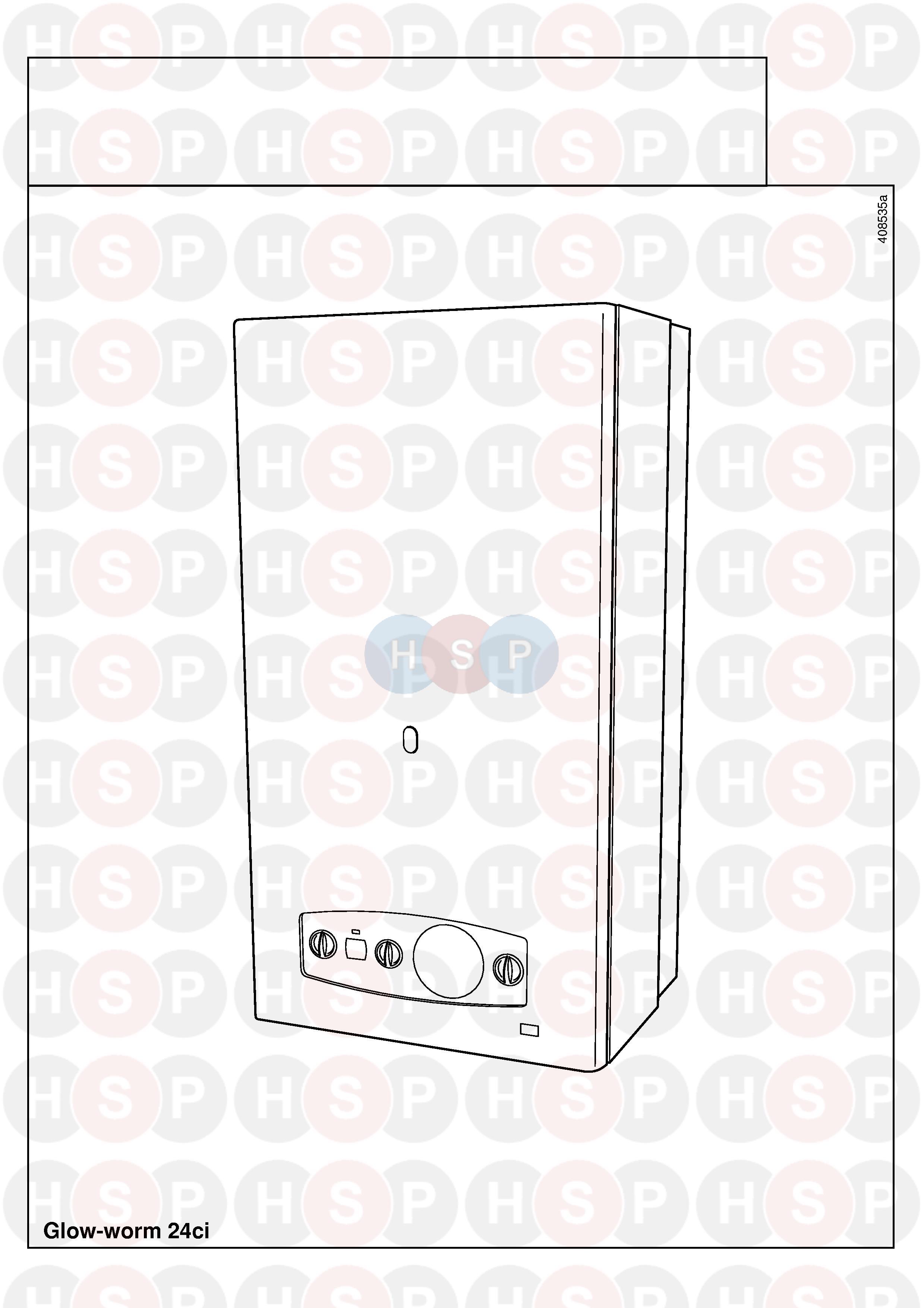 Glowworm GLOWWORM 24CI (Appliance overview) Diagram | Heating Spare ...