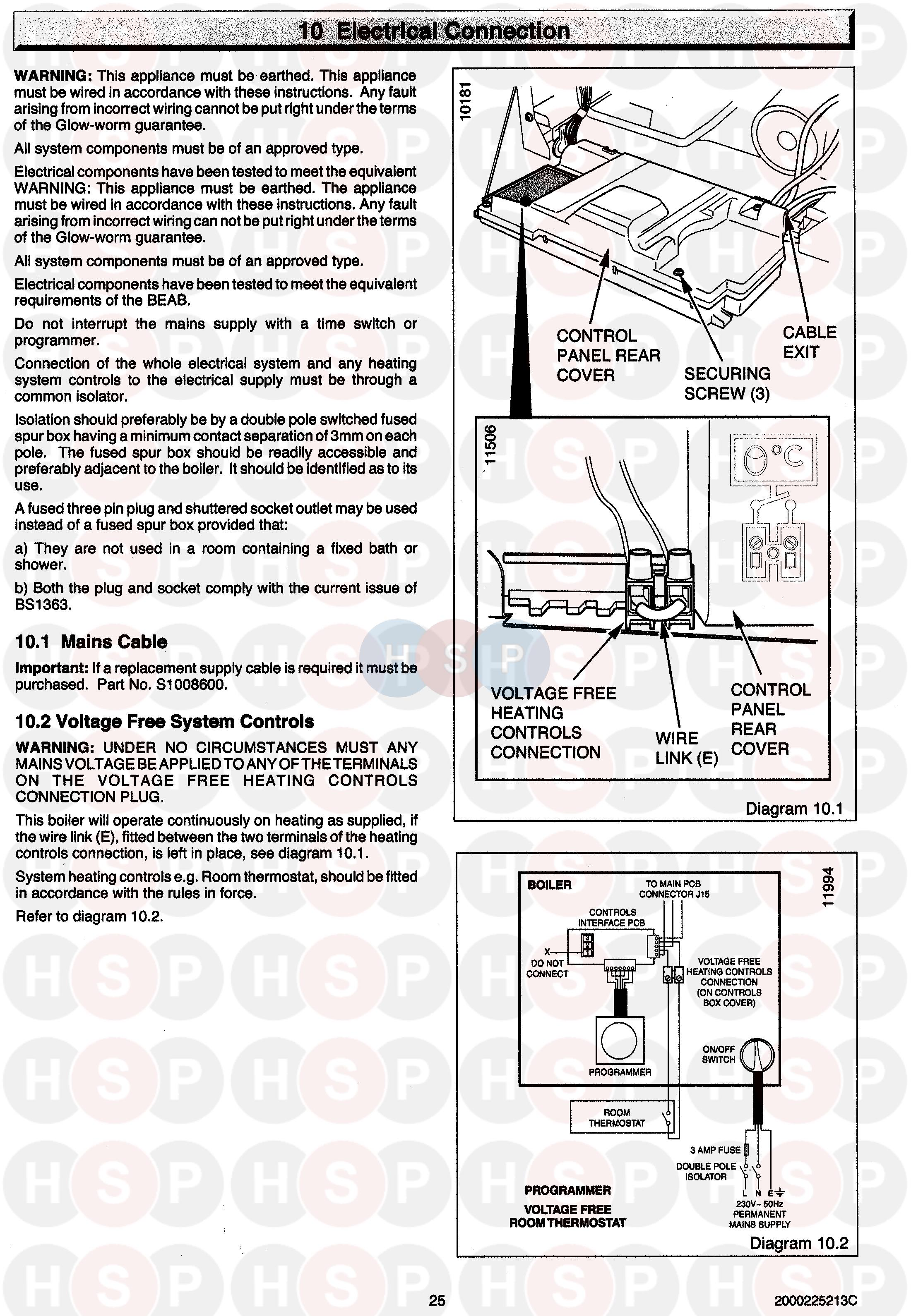 Old Fashioned Glow Worm Ultracom 38cxi User Manual Pattern ...