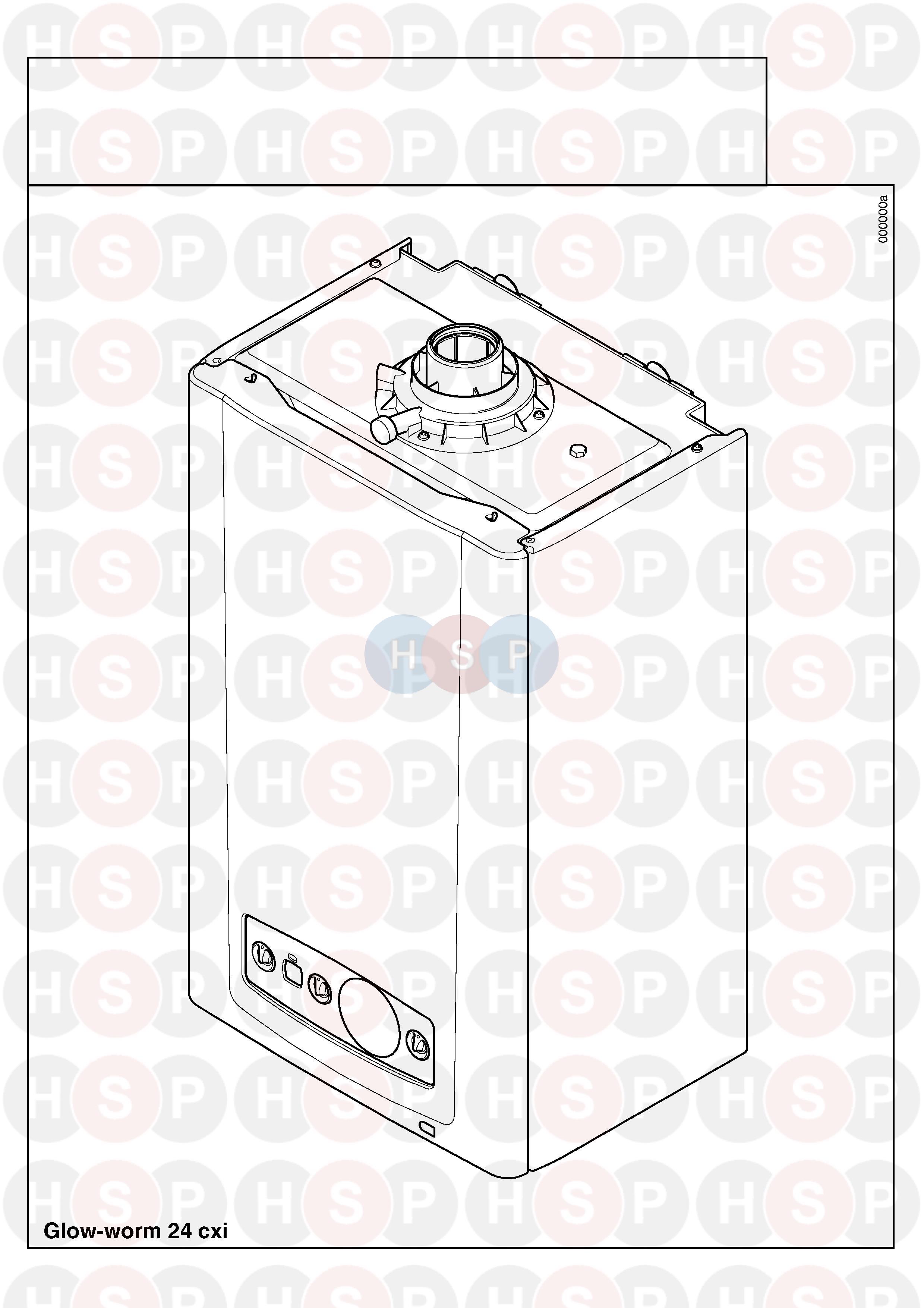 Glowworm GLOWWORM 24CXI (Appliance overview) Diagram | Heating Spare ...