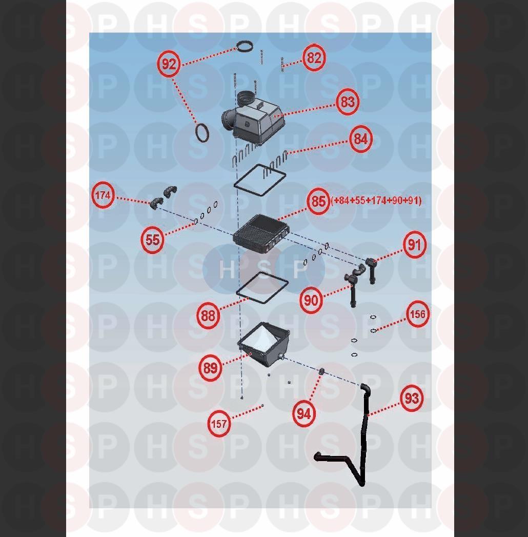 Glowworm BETACOM 24C (Assembly 5) Diagram | Heating Spare Parts