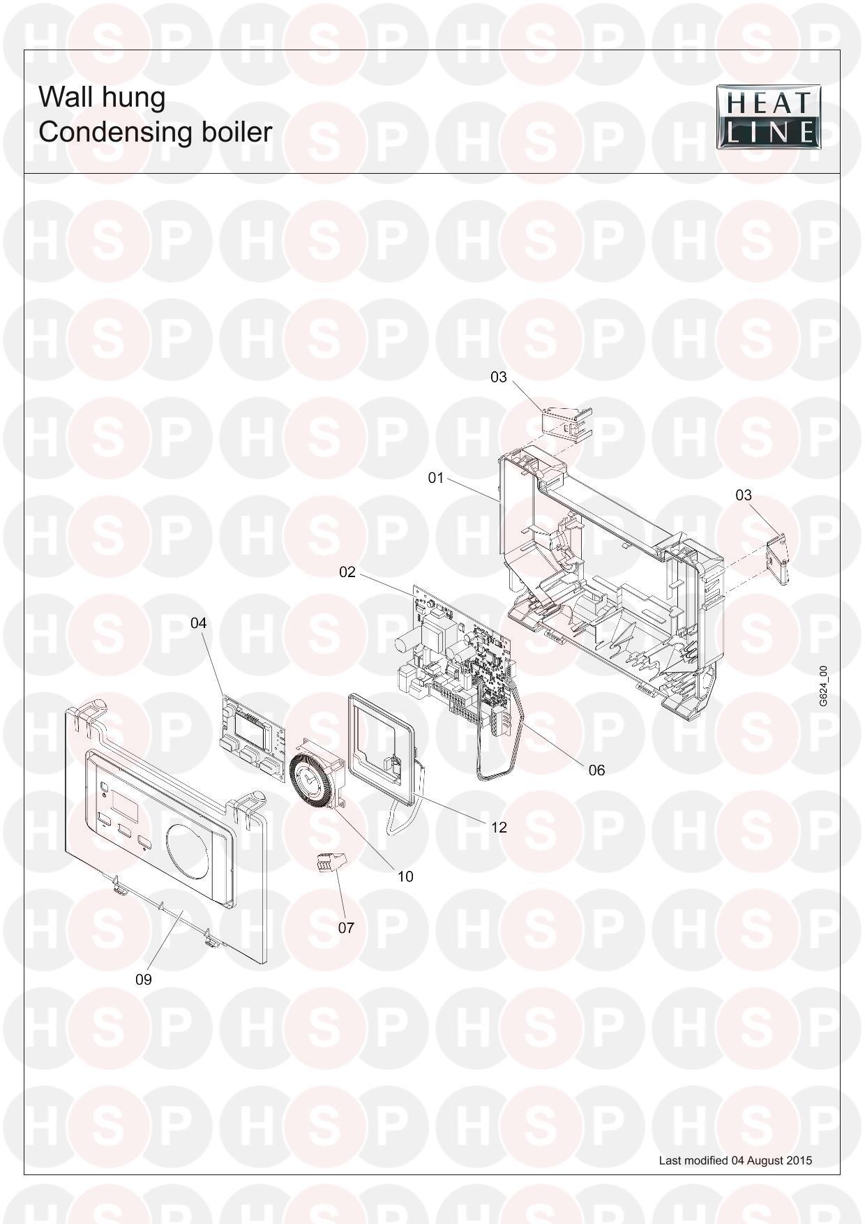Heatline Capriz 2 28c 2015 Onwards  06 Electronics Diagram