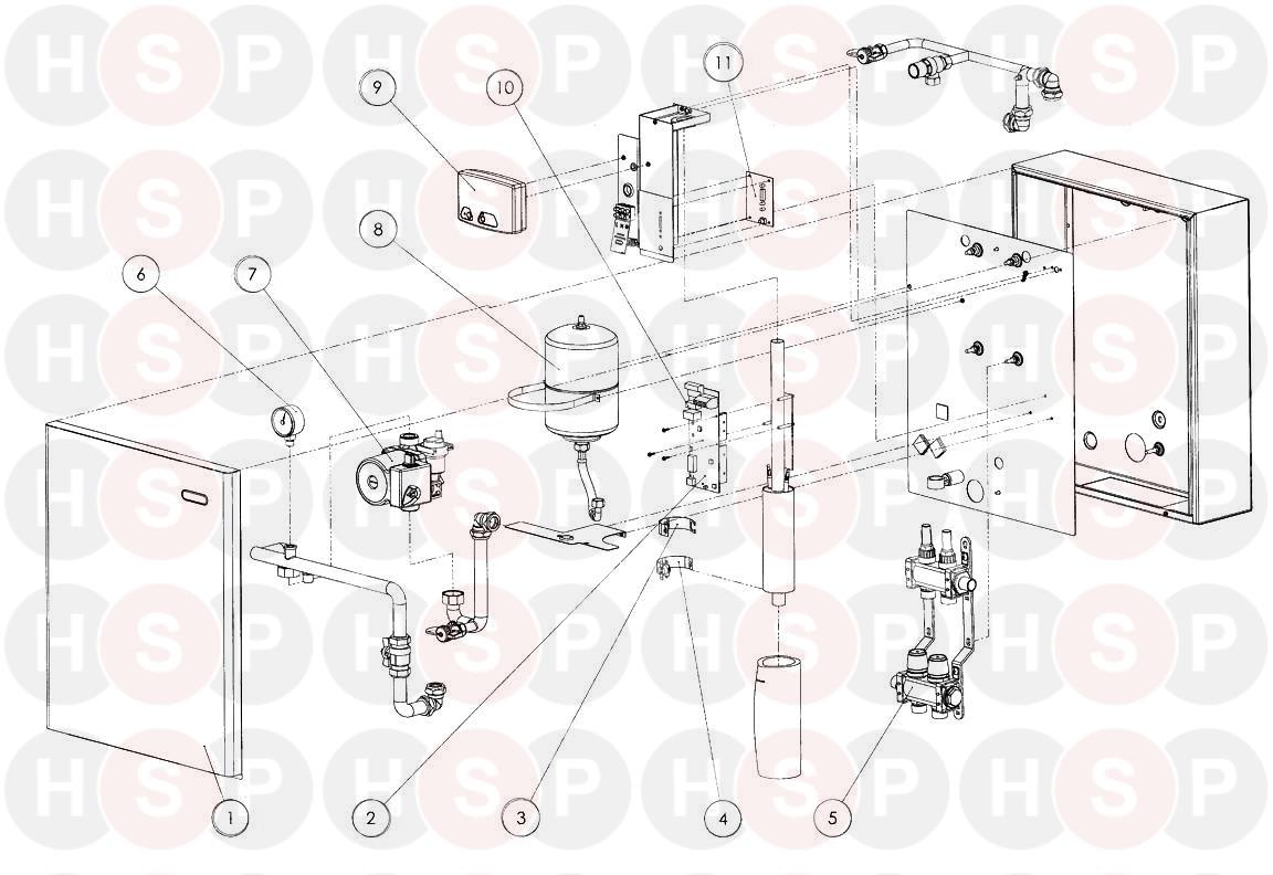 heatrae sadia amptec system boiler 2 5kw underfloor  amptec system boiler 2 5kw underfloor