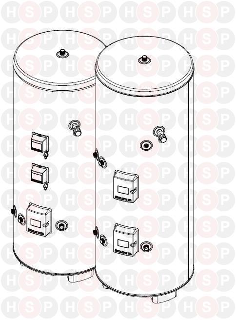 Heatrae Sadia Megaflo CL190 Indirect (MEGAFLO CL190 SPARES) Diagram ...