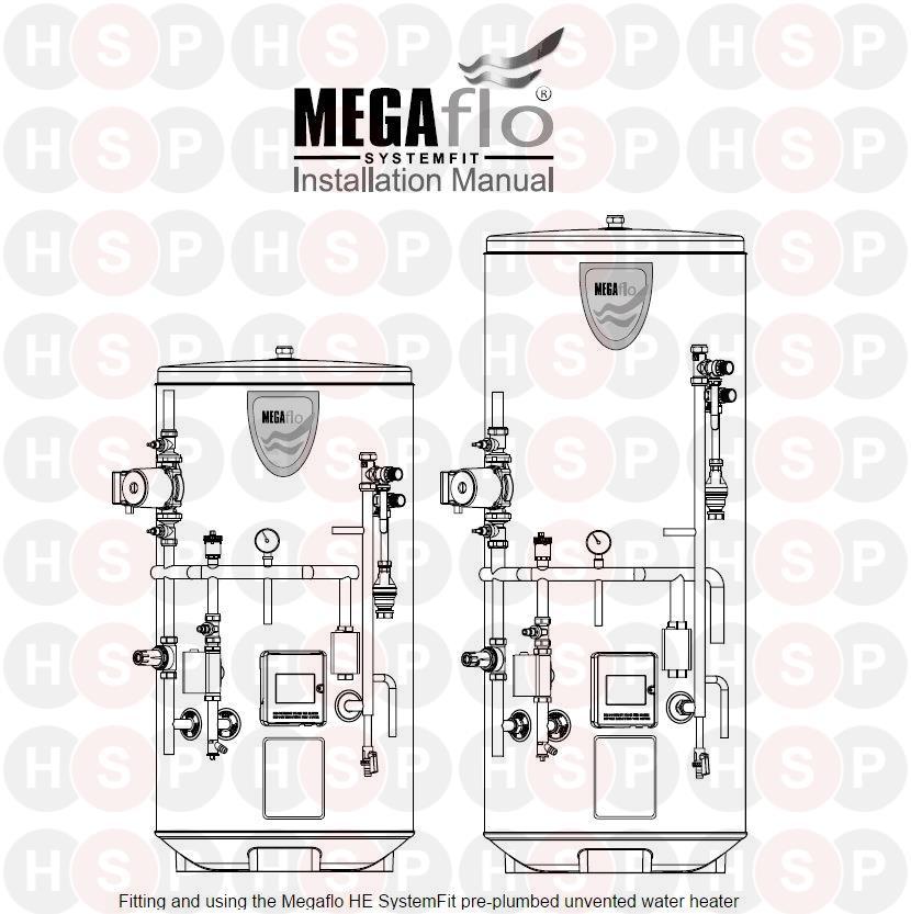 Heatrae Sadia Megaflo Systemfit Appliance Diagram (Megaflo