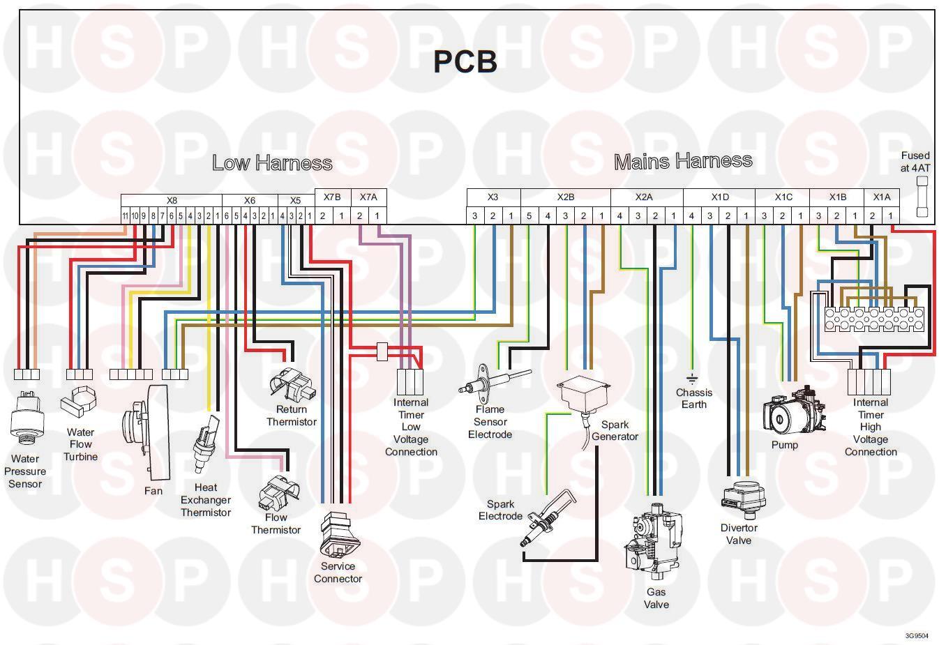 Boiler Wiring Diagram from www.heatingspareparts.com