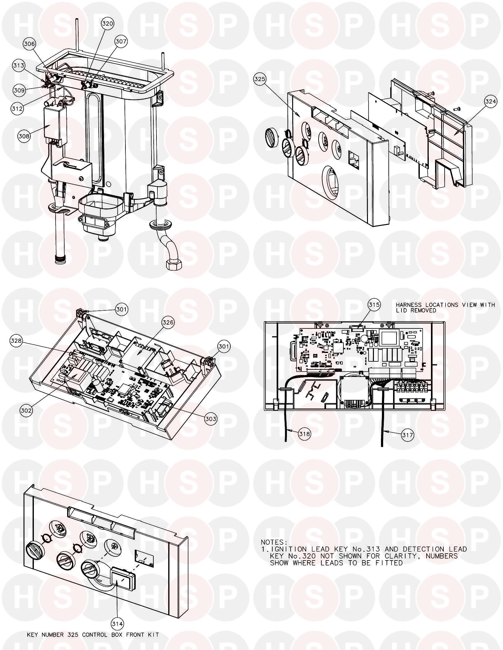 ideal instinct combi 30  controls  diagram