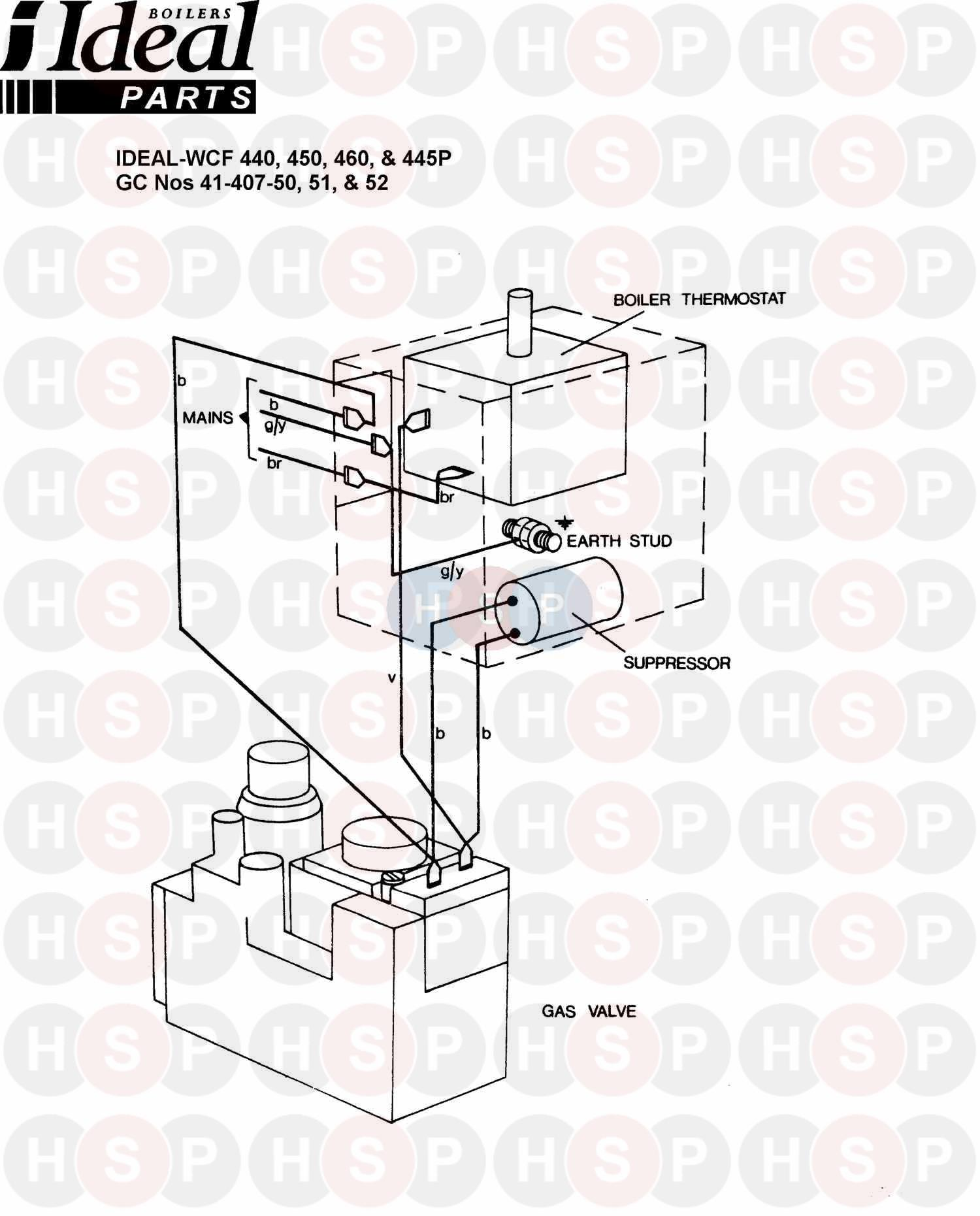 Ideal Concord Wcf 440 Wiring Diagram 1 Heating Spare Parts Fan Switch Click The To Open It On A New Page