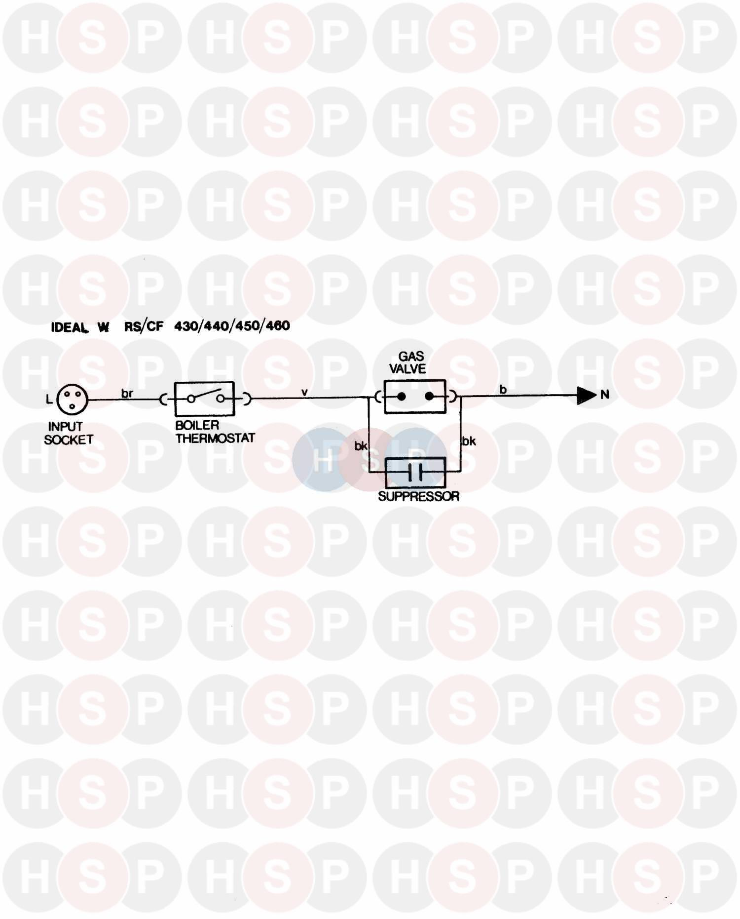 Ideal Concord Wcf 460 Wiring Diagram 2 Heating Spare Parts Fan Switch Click The To Open It On A New Page
