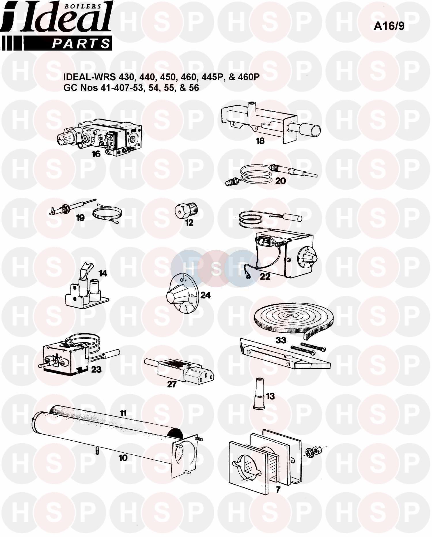 ideal concord wrs 460 programmer diagram heating spare. Black Bedroom Furniture Sets. Home Design Ideas