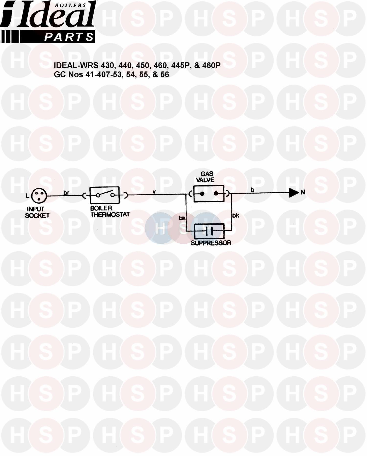 ideal concord wrs 450  wiring diagram 2  diagram