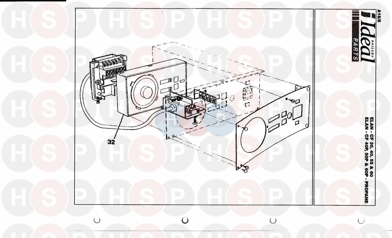 Ideal MEXICO SUPER 2 CF 125 Appliance Diagram (Programmer