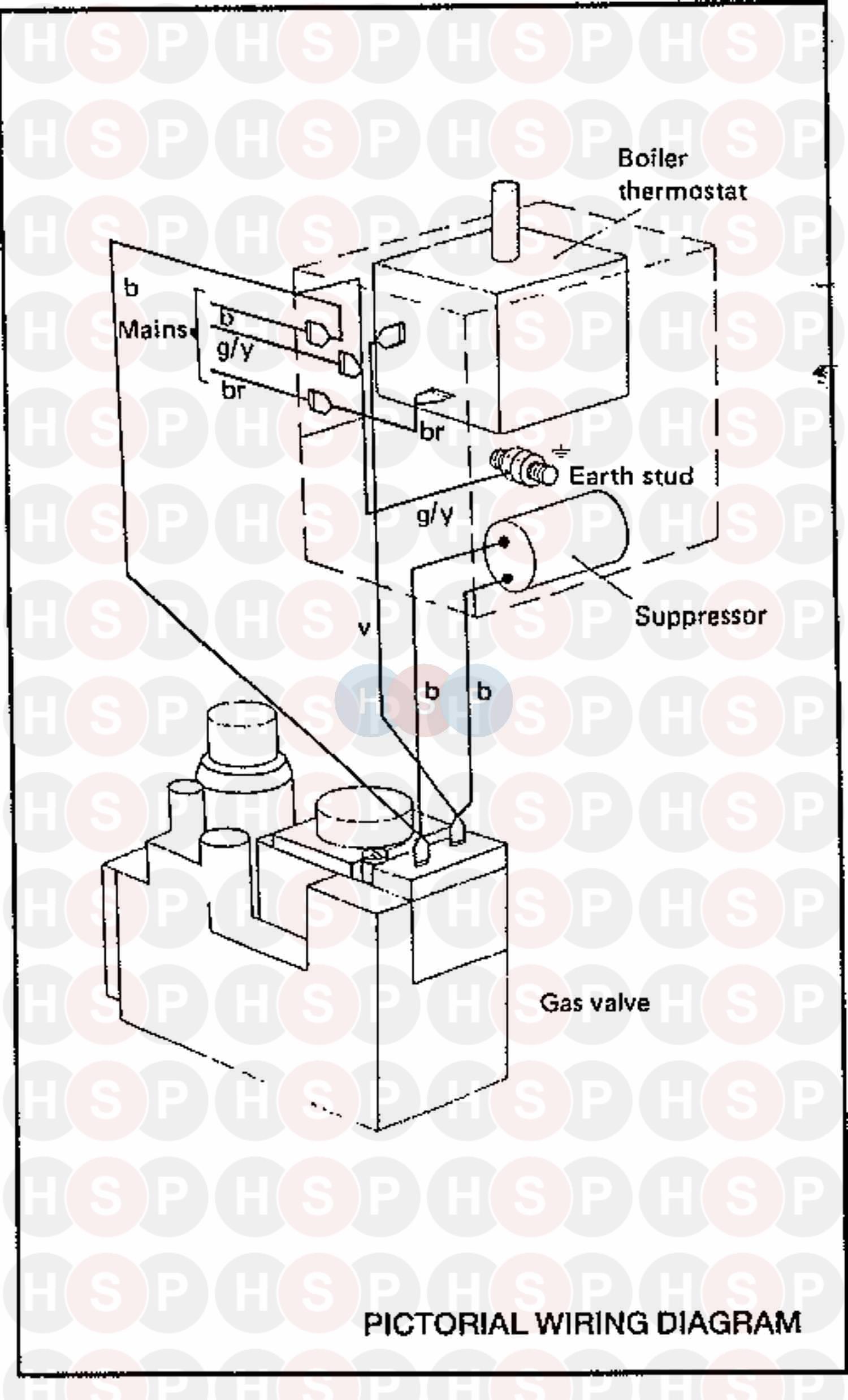 Ideal CONCORD WLX RS 50 (WIRING DIAGRAM 2)Diagram